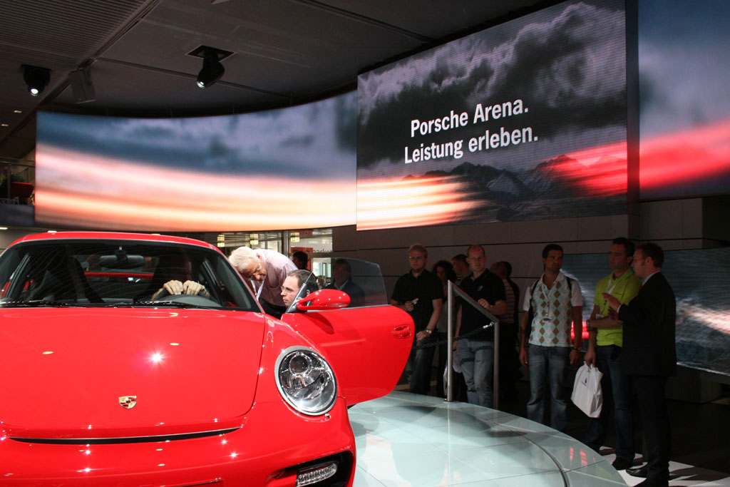 Porsche-Messestand IAA